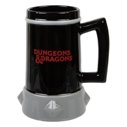 Picture of Dungeons and Dragons Sculpted Tankard with Metal Badge