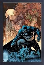 Picture of Batman vs Villians Framed Print