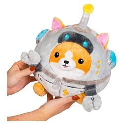 """Picture of Corgi in Robot Squishable 7"""" Plush"""