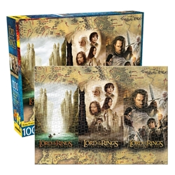 Picture of Lord of the Rings Triptych 1000 Piece Jigsaw Puzzle