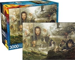 Picture of Lord of the Rings 3000 Piece Jigsaw Puzzle