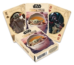 Picture of Star Wars Mandalorian The Child Playing Cards