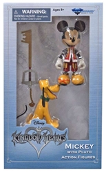 Picture of Kingdom Hearts Mickey & Pluto Walgreens Exclusive Action Figure