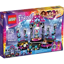 Picture of LEGO Friends 41105 Pop Star Show Stage 446 pcs