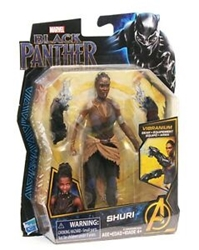 Picture of Avengers Black Panther Shuri with Vibranium Gear 6 Inch