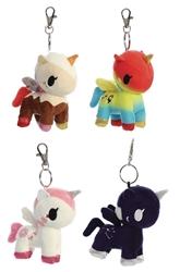 """Picture of Tokidoki Unicorno Series 3 4.5"""" Plush Blind Bag Clip-On"""