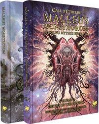 Picture of Call of Cthulhu RPG Malleus Monstrorum Cthulhu Mythos Bestiary Two Volume Slipcase Set