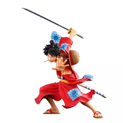 Picture of One Piece Monkey D Luffy Banpresto World Figure Colosseum 3 Super Master Stars Piece Figure