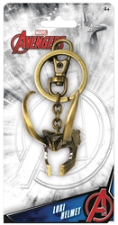 Picture of Avengers Loki 3D Helmet Pewter Keychain