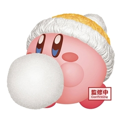 Picture of Kirby Fluffy Puffy Mine Play in the Snow Figure