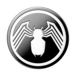Picture of Marvel Spider-Man Black and White Enamel PopSocket PopGrip