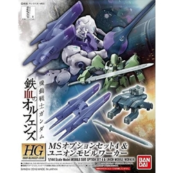 Picture of Gundam Iron-Blooded Orphans Option Set 4 and Mobile Worker HG Option Set