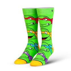 Picture of Teenage Mutant Ninja Turtles Boys Mens Straight Crew Knit Socks
