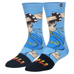 Picture of Street Fighter Chun Li Mens Crew Socks