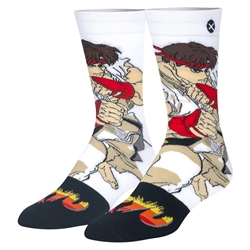 Picture of Street Fighter Ryu Mens Crew Socks