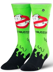 Picture of Ghostbusters Slime Mens Crew Straight Down Knit Socks