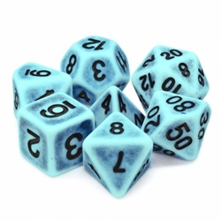 Picture of Peacock Ancient Dice Set