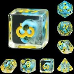 Picture of Turquoise Treasure Dice Set