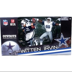 Picture of Dallas Cowboys Collectible Figure Two Pack W/ Jason Witten Michael Irvin