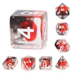 Picture of Flame Skull Dice Set