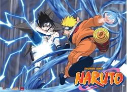 Picture of Naruto Rasengan vs Chidori Wall Scroll