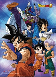 Picture of Dragon Ball Super Battle of Gods Group 09 Wall Scroll