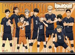 Picture of Haikyu!! Season 3 Karasuno High School Wall Scroll