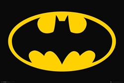 "Picture of Batman Bat Symbol 24"" x 36"" Poster"