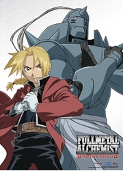Picture of Fullmetal Alchemist Elric Brothers Wall Scroll