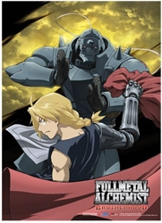 Picture of Fullmetal Alchemist Brotherhood Moon Wall Scroll