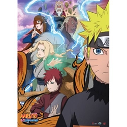 Picture of Naruto Shippuden Allies Wall Scroll