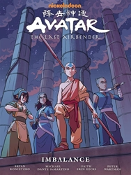 Picture of Avatar the Last Airbender Imbalance HC Library Edition