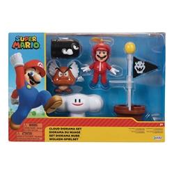 Picture of Nintendo Super Mario Cloud Diorama Set