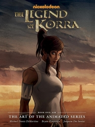 Picture of Legend of Korra Art of the Animated Series Vol 01 HC Air 2nd Edition