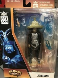 """Picture of Big Trouble in Little China Lightning BST AXN 5"""" Figure"""