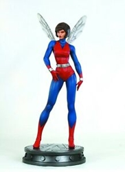 Picture of Wasp from the Avengers Marvel Painted Statue Digitally Sculpted by Jason Smith Classic Version