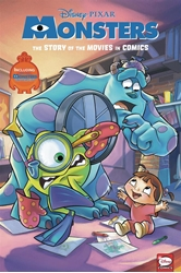 Picture of Monsters Inc and University Movie in Comics HC