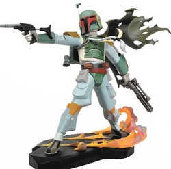 Picture of Star Wars Animated Boba Fett Maquette