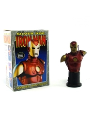 Picture of Iron Man Silver Age Mini-Bust Bowen Statues