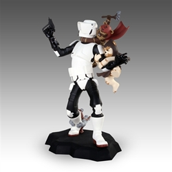Picture of Star Wars Animated Scout Trooper (Ewok Attack) Limited Edition Maquette