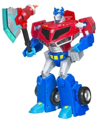 Picture of Transformers Animated Supreme Roll Out Command Optimus Prime