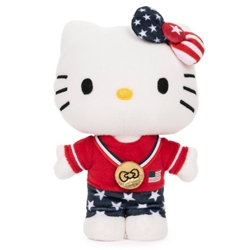 Picture of Hello Kitty Team USA 6-Inch Plush