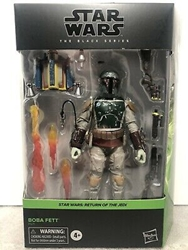 Picture of Star Wars Black Series 6in Dlx Boba Fett Figure