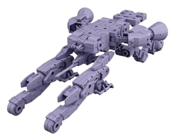 Picture of Space Craft Purple #07 30 Minute Missions 1/144 Model Kit