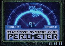 Picture of Alien Inside Perimeter Magnet