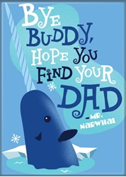 Picture of Elf Mr Narwhal Magnet