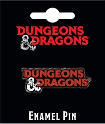 Picture of Dungeons and Dragons Logo Enamel Pin