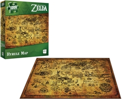 Picture of Legend of Zelda Hyrule Map 1,000-Piece Puzzle
