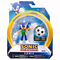 Picture of Sonic the Hedgehog Sonic Soccer 4-Inch Action Figure
