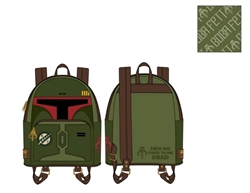 Picture of Star Wars Boba Fett He's No Good to Me Dead Cosplay Mini Backpack